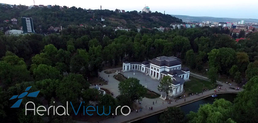 Aerial View Parcul Central Cluj